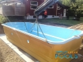 piscines coque en polyester transport 104